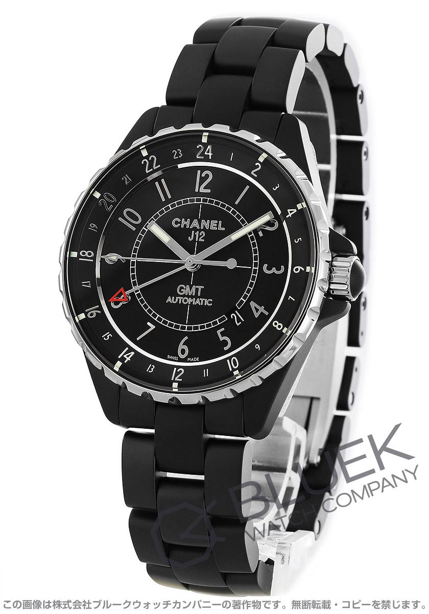 シャネル J12 GMT 腕時計 メンズ CHANEL H3101