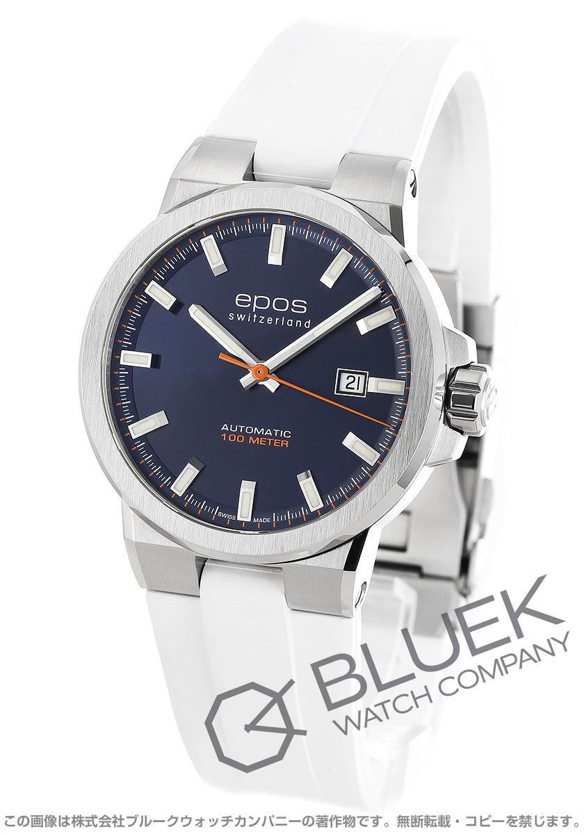 エポス スポーティブ 腕時計 メンズ EPOS 3442BLWHR