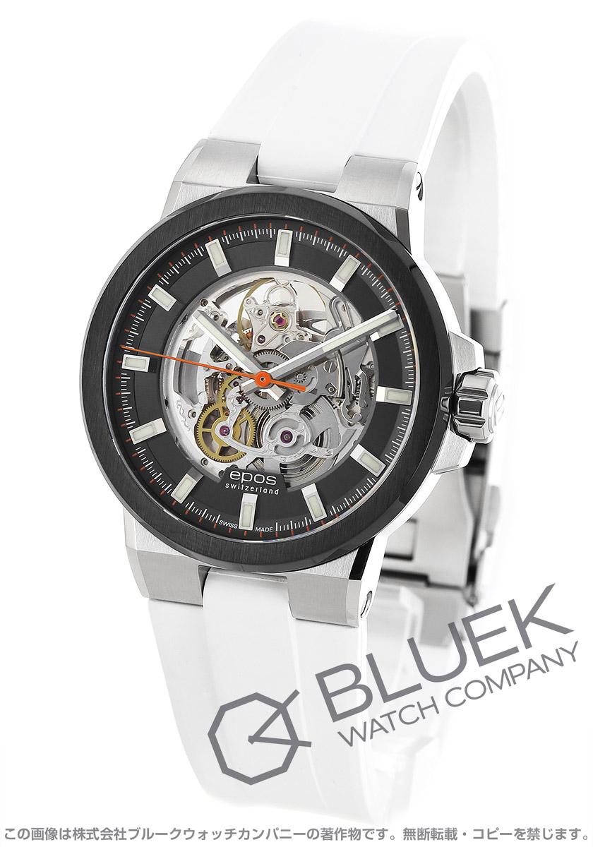 エポス スポーティブ スケルトン 腕時計 メンズ EPOS 3442SKBSGYWHR