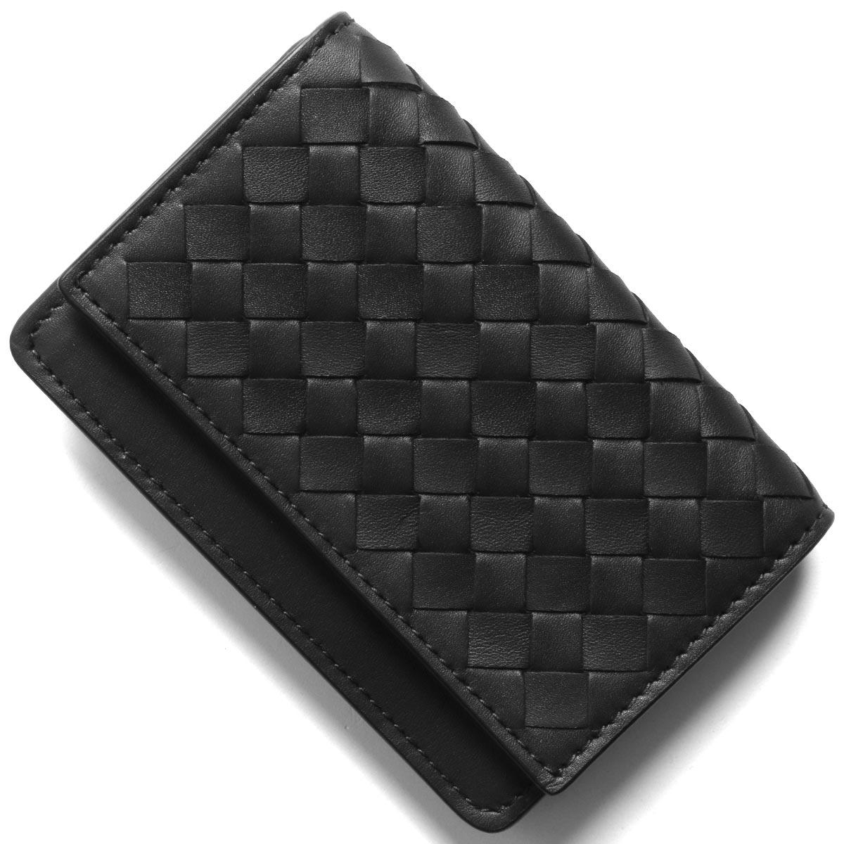 ボッテガヴェネタ (ボッテガ・ヴェネタ) カードケース/名刺入れ メンズ イントレチャート ブラック 529121 V4651 1000 BOTTEGA VENETA