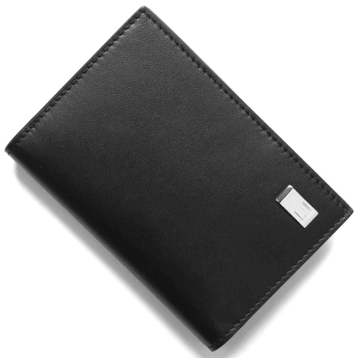 ダンヒル カードケース/名刺入れ メンズ ブラック DU19F2F47AT 001 DUNHILL