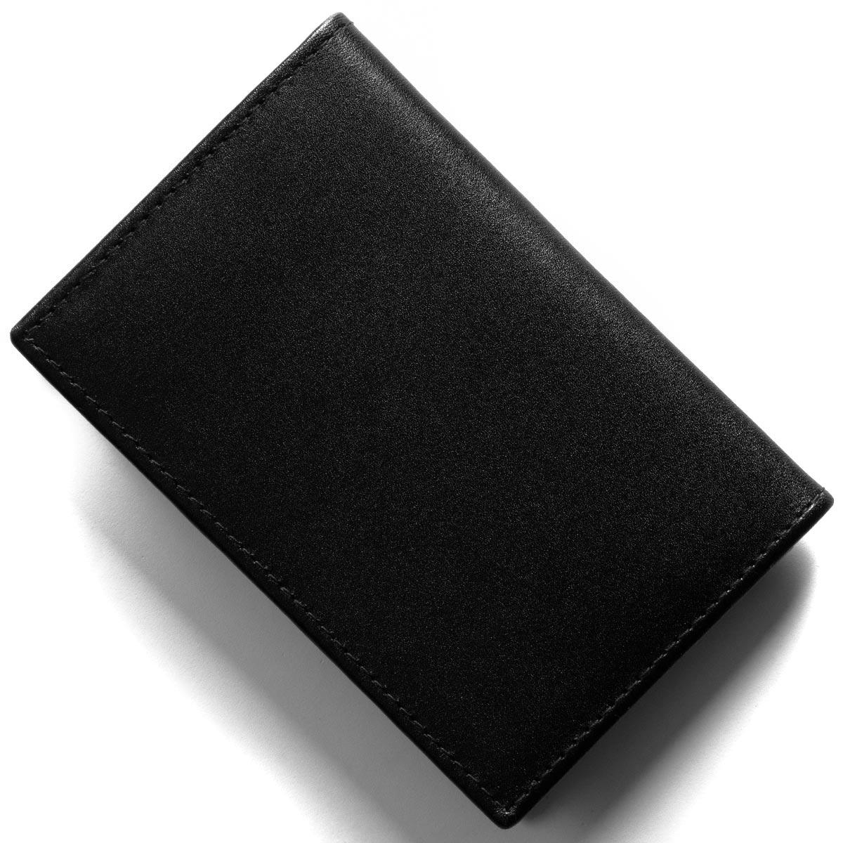 エッティンガー カードケース/名刺入れ メンズ スターリング ブラック&パープル 143JR ST PURPLE 2019年春夏新作 ETTINGER