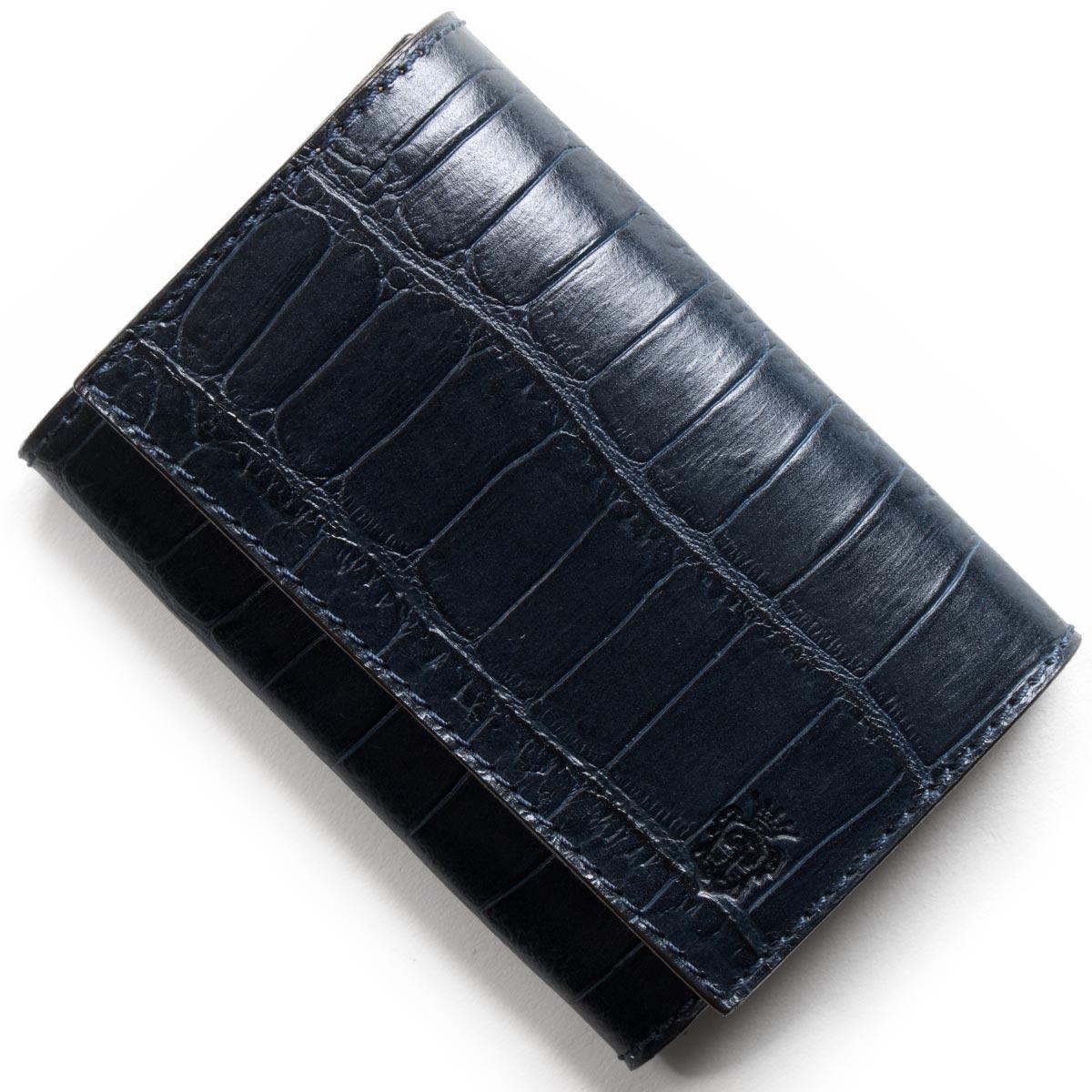 フェリージ カードケース メンズ レディース ネイビーブルー 450 SA 0005 FELISI