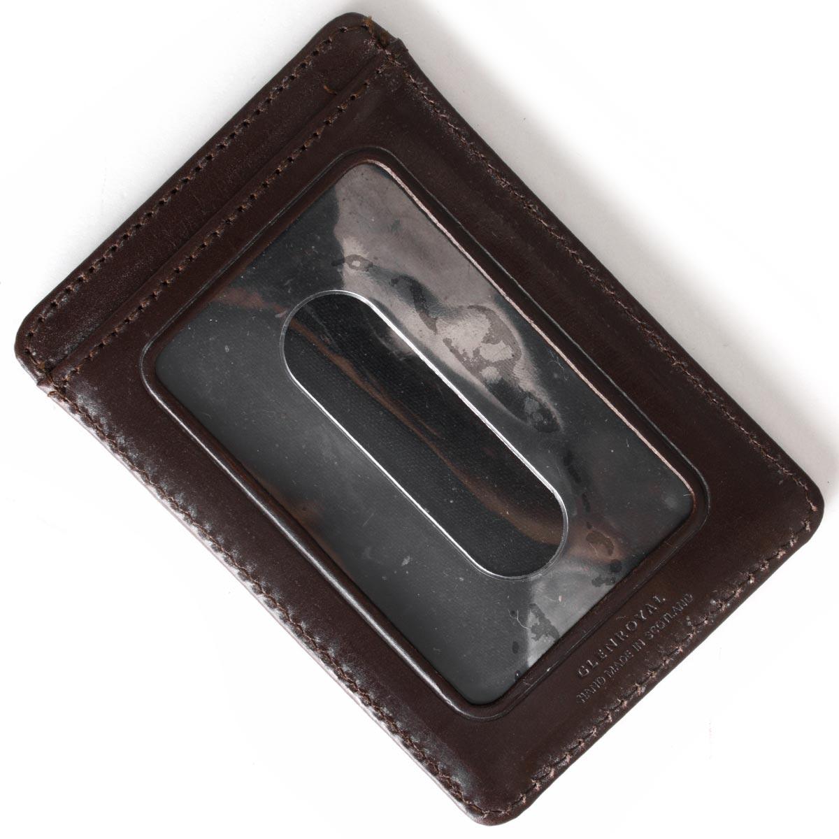 グレンロイヤル カードケース メンズ シガーブラウン 032997 CIGAR GLENROYAL