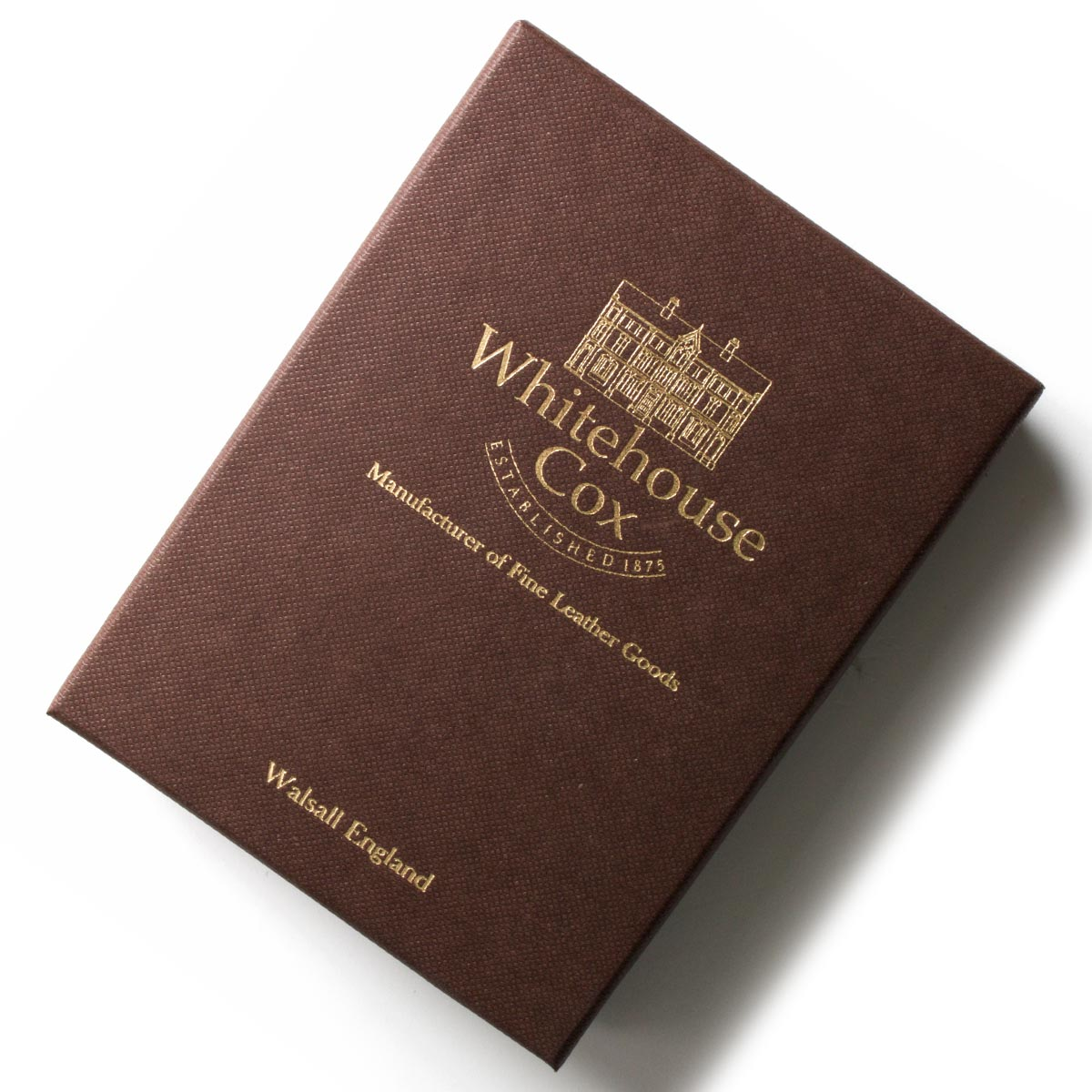 ホワイトハウスコックス カードケース メンズ ネイビー&ナチュラル S2380 NAVYNAT WHITEHOUSE COX