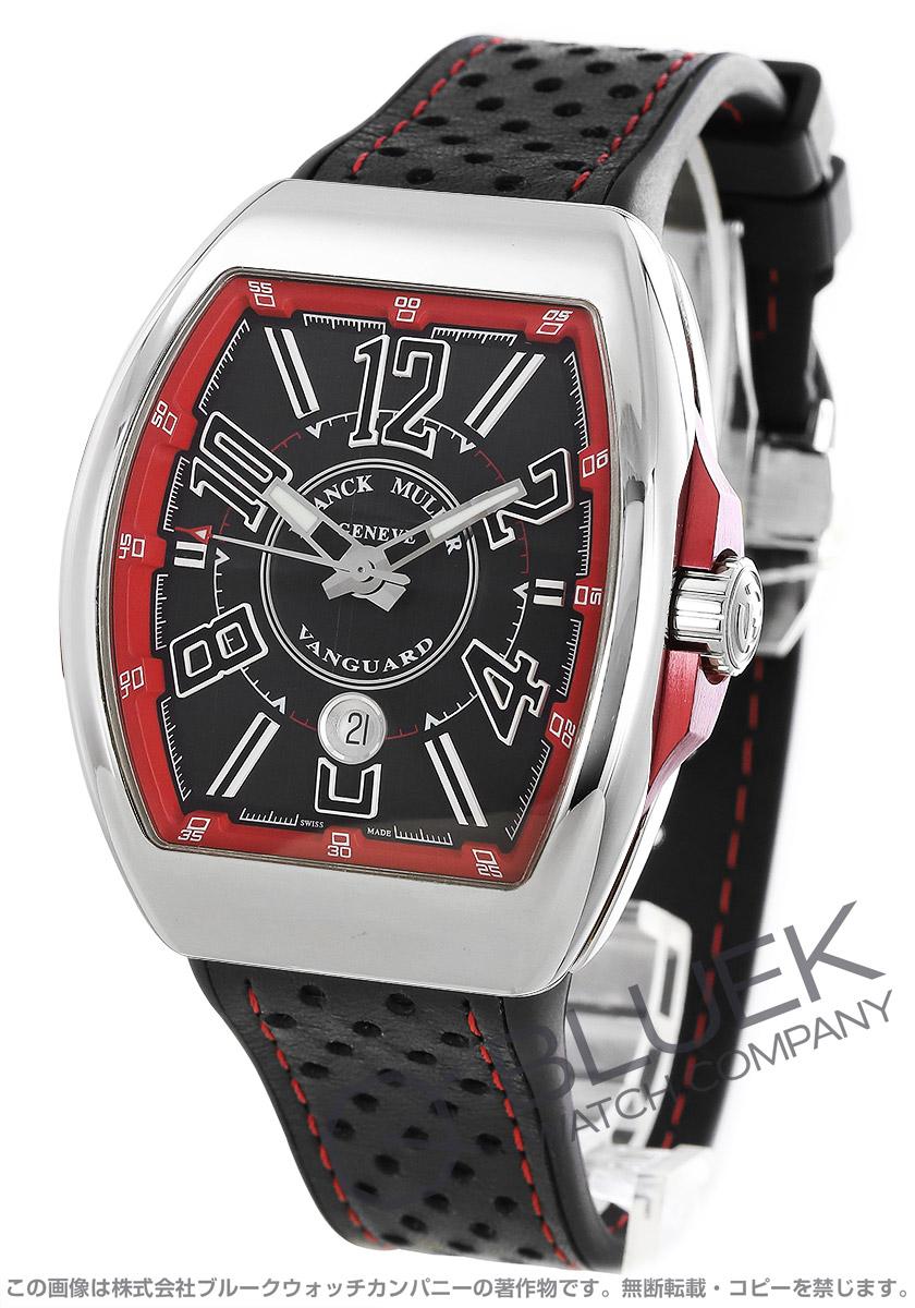 フランクミュラー ヴァンガード レーシング リミテッドエディション 世界限定28本 腕時計 メンズ FRANCK MULLER V45 SC DT LTD[FMV45SCRCGLMPLSSRDBKLZBK]