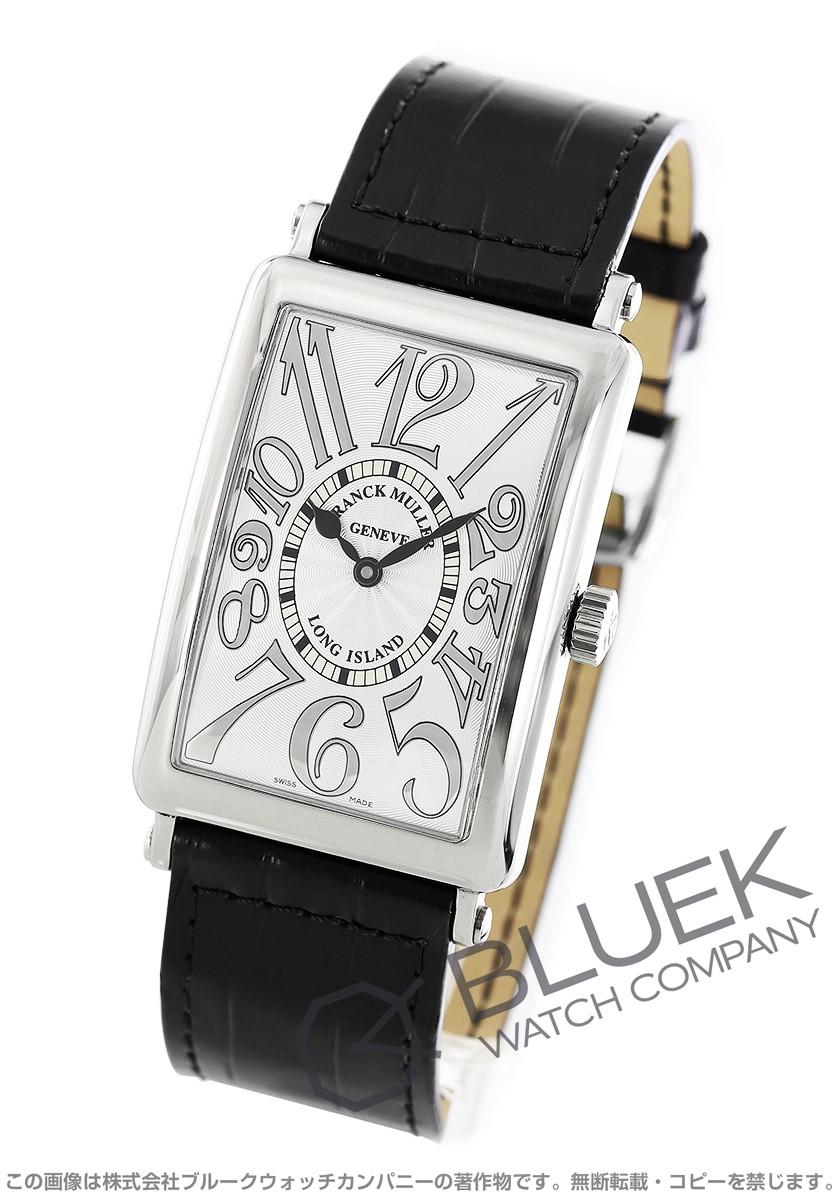フランクミュラー ロングアイランド レリーフ クロコレザー 腕時計 メンズ FRANCK MULLER 1000 SC REL[FM1000SCSSSLLZBKR]