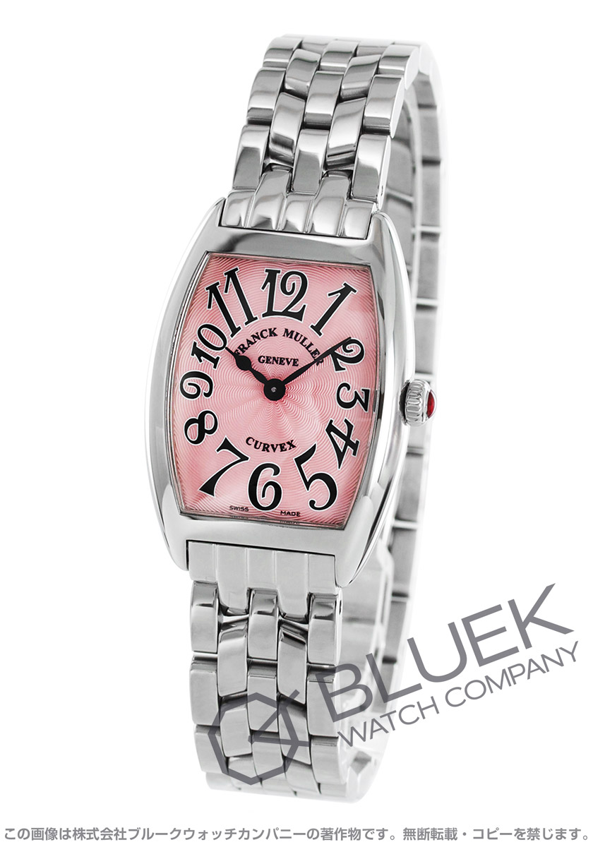 フランクミュラー トノーカーベックス 腕時計 レディース FRANCK MULLER 1752 QZ[FM1752QZSSPK]