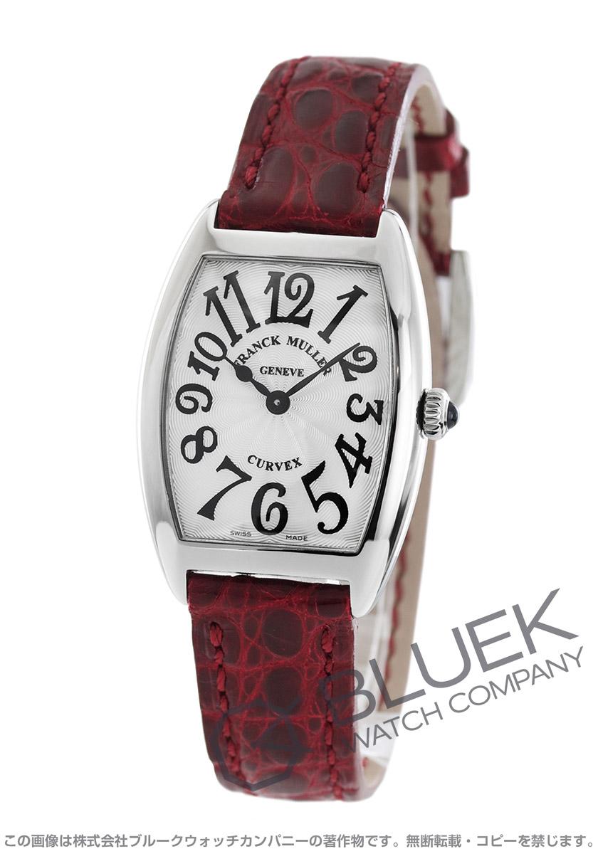 フランクミュラー トノーカーベックス クロコレザー 腕時計 レディース FRANCK MULLER 1752 QZ[FM1752QZSSSLENBO]