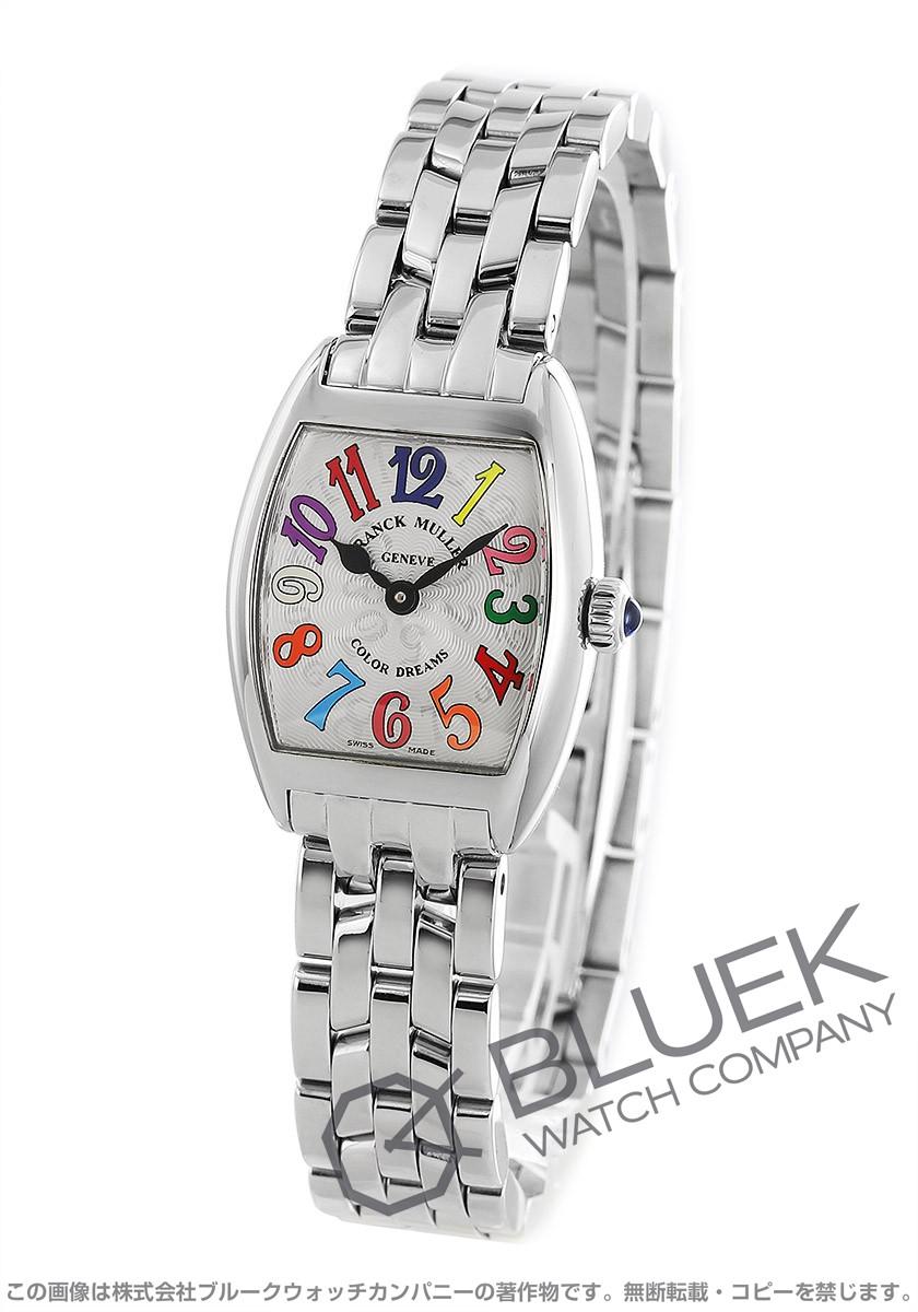 フランクミュラー トノーカーベックス カラードリーム インターミディエ 腕時計 レディース FRANCK MULLER 2252 QZ COL DRM[FM2252QZCDSSSL]