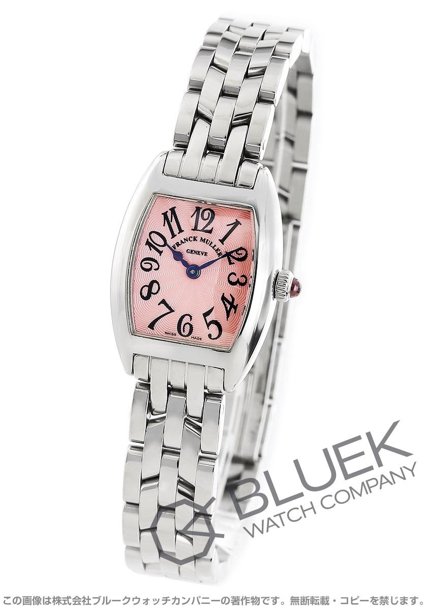 フランクミュラー トノーカーベックス プティ 腕時計 レディース FRANCK MULLER 2502 QZ[FM2502QZSSPK]