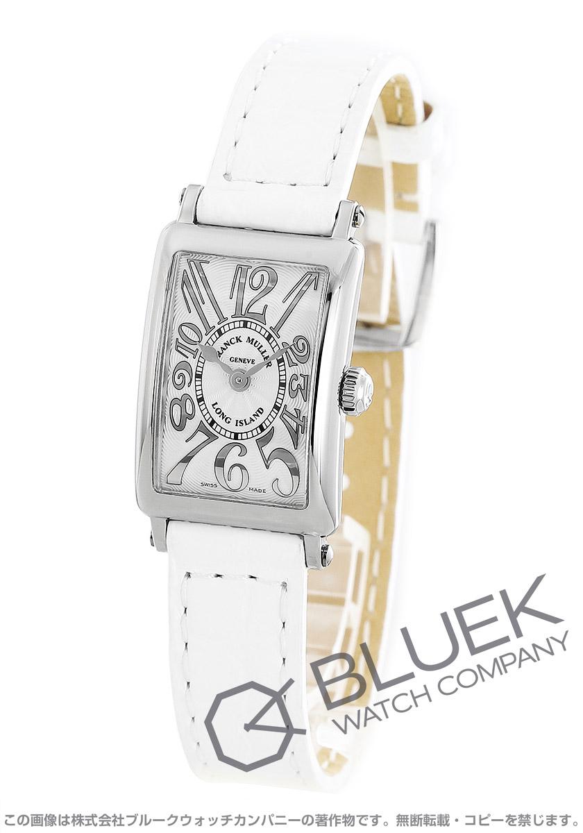 フランクミュラー ロングアイランド プティ レリーフ クロコレザー 腕時計 レディース FRANCK MULLER 802 QZ REL[FM802QZSSSLENWHR]