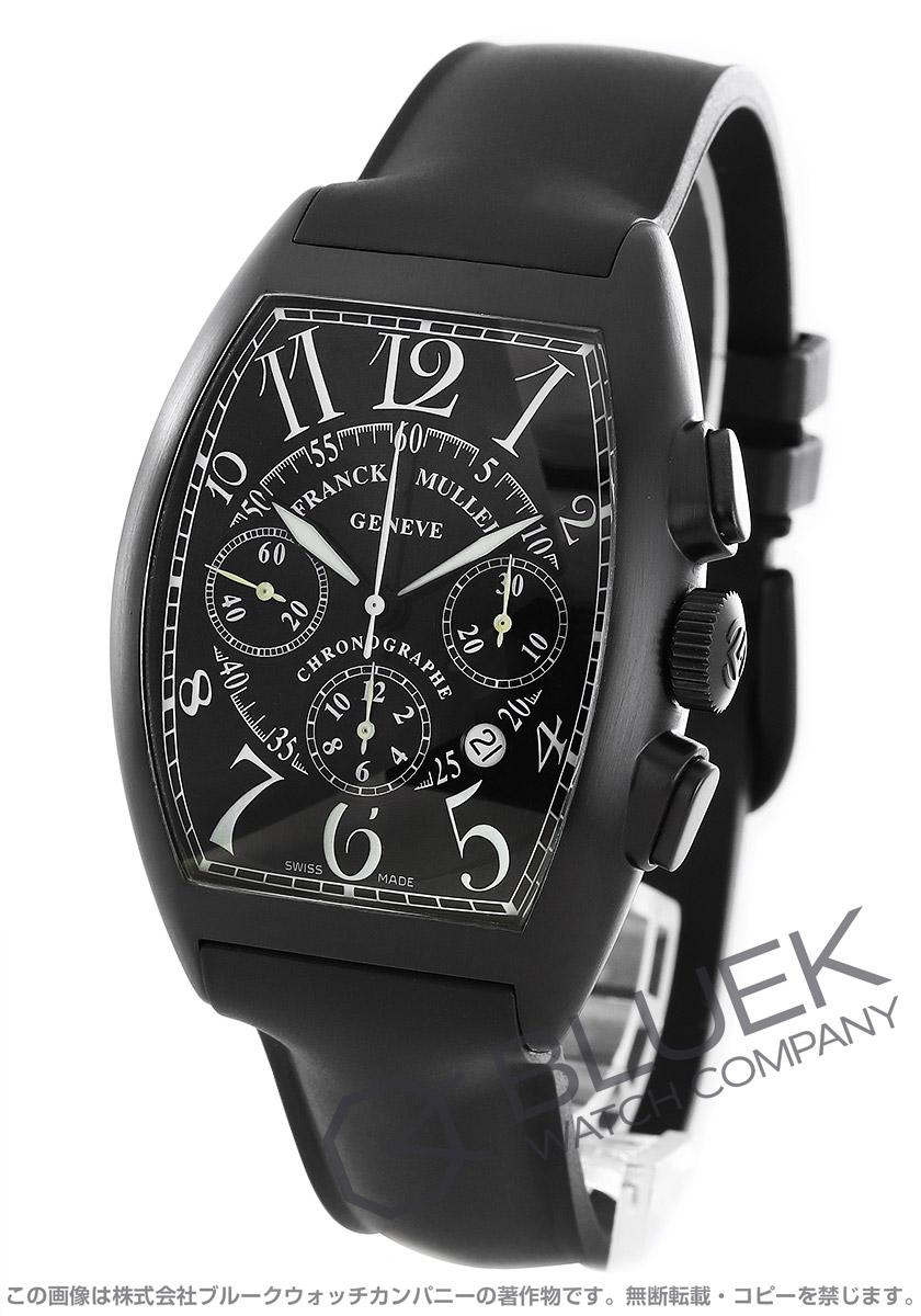 フランクミュラー トノーカーベックス クロノグラフ 腕時計 メンズ FRANCK MULLER 8880 CC AT NR[FM8880CCSSNRBKRUBK]