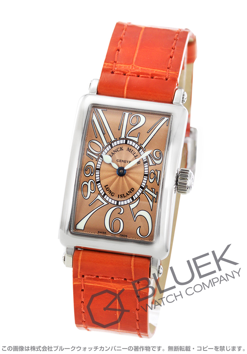 フランクミュラー ロングアイランド クロコレザー 腕時計 レディース FRANCK MULLER 902 QZ[FM902QZSSLBRENOR]