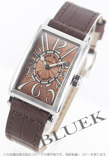 フランクミュラー ロングアイランド クロコレザー 腕時計 レディース FRANCK MULLER 902 QZ[FM902QZSSLBRLZBR]