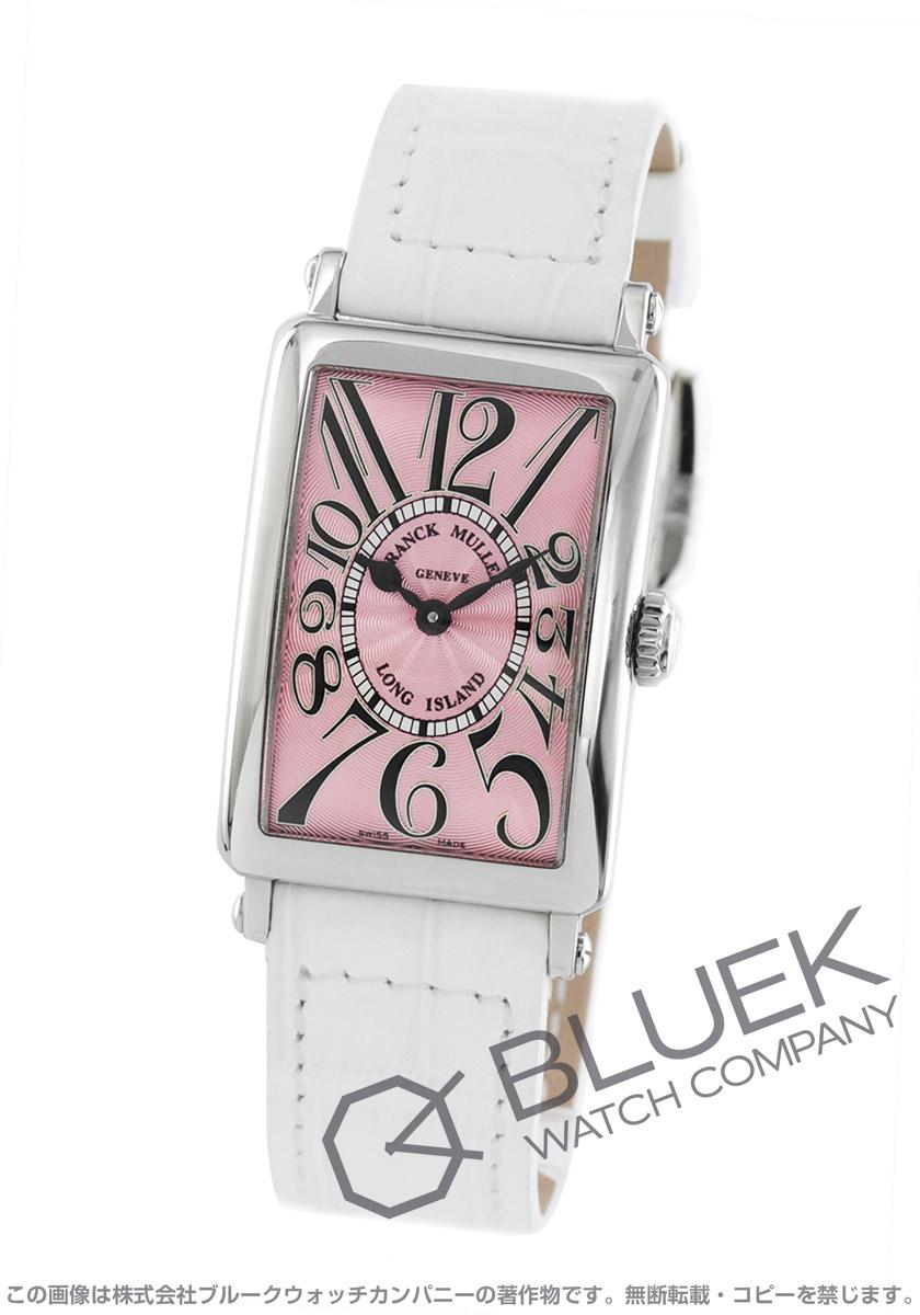 フランクミュラー ロングアイランド クロコレザー 腕時計 レディース FRANCK MULLER 902 QZ[FM902QZSSPKLZWH1]