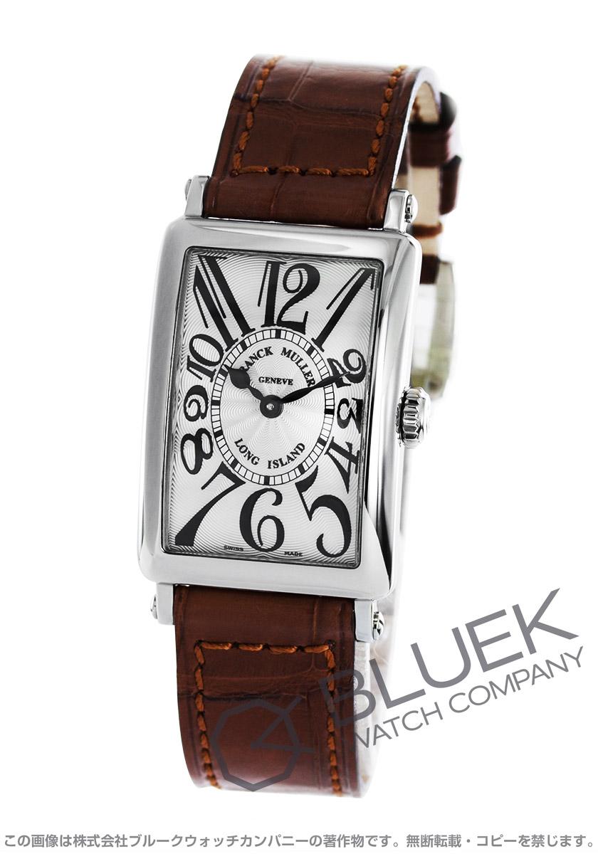 フランクミュラー ロングアイランド クロコレザー 腕時計 レディース FRANCK MULLER 902 QZ[FM902QZSSSLLZBR]