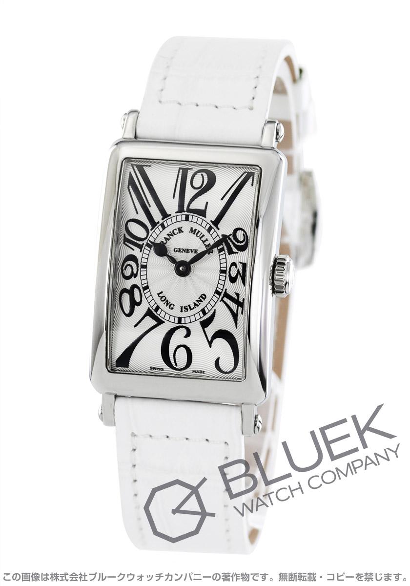 フランクミュラー ロングアイランド クロコレザー 腕時計 レディース FRANCK MULLER 902 QZ[FM902QZSSSLLZWH1]