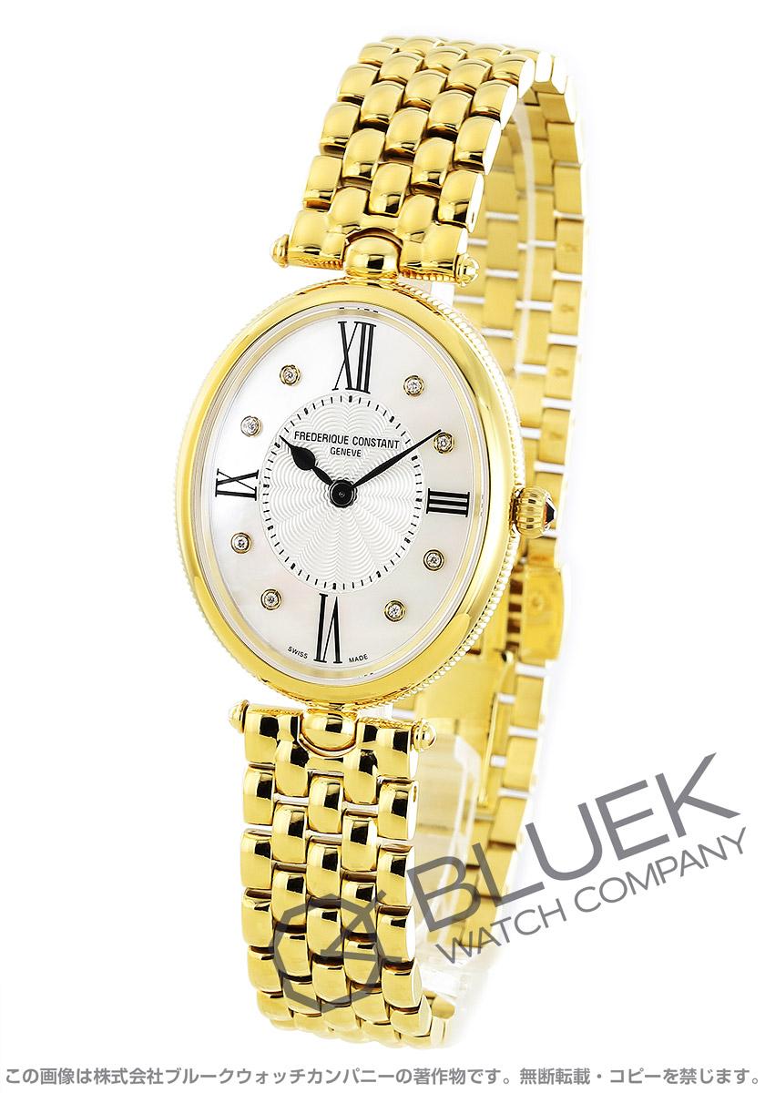 フレデリックコンスタント アールデコ ダイヤ 腕時計 レディース FREDERIQUE CONSTANT 200MPWD3V5B
