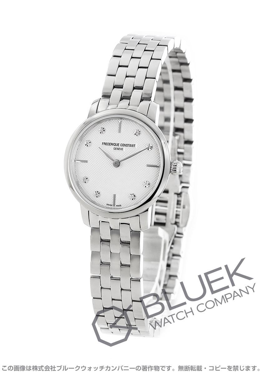 フレデリックコンスタント スリムライン ミニ ダイヤ 腕時計 レディース FREDERIQUE CONSTANT 200STDS6B