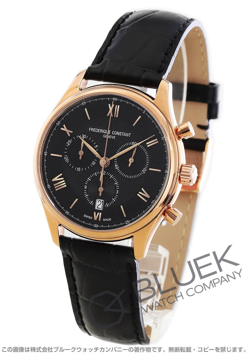 フレデリックコンスタント クラシック クロノグラフ 腕時計 メンズ FREDERIQUE CONSTANT 292MB5B4