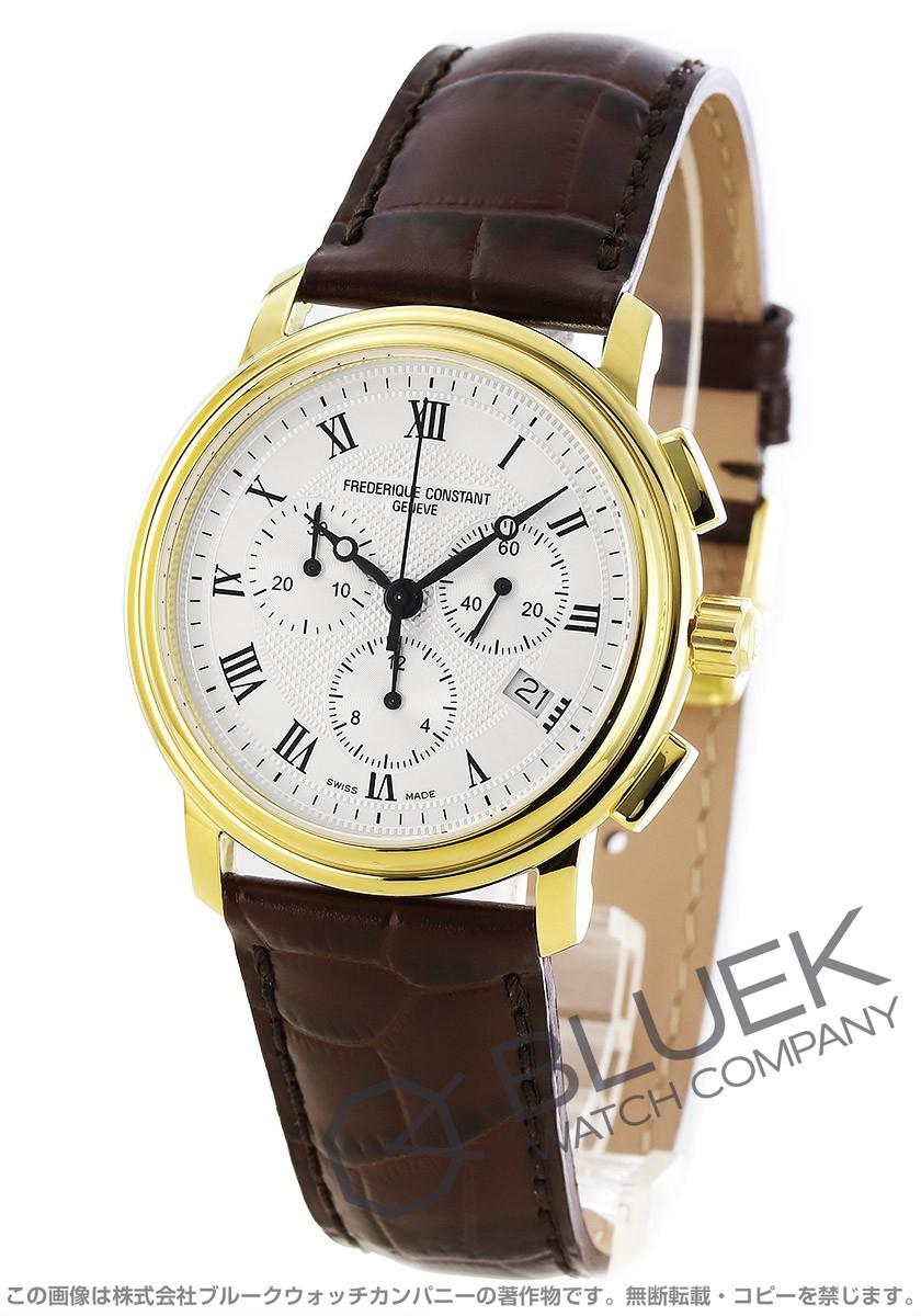 フレデリックコンスタント クラシック クロノグラフ 腕時計 メンズ FREDERIQUE CONSTANT 292MC4P5