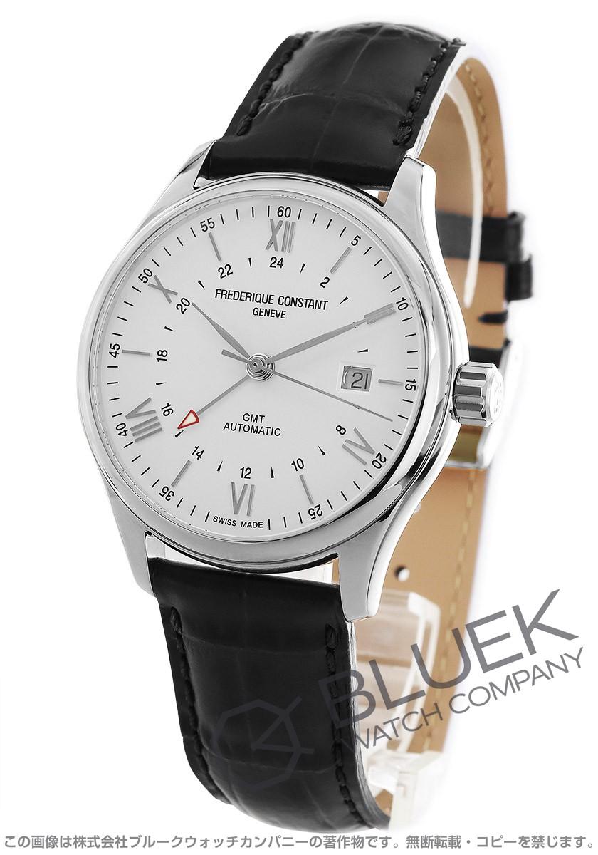 フレデリックコンスタント クラシック インデックス GMT 腕時計 メンズ FREDERIQUE CONSTANT 350S5B6