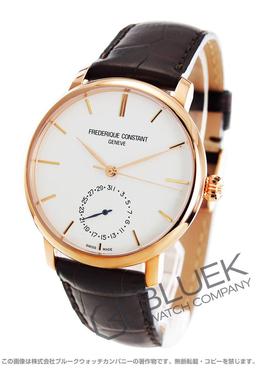 フレデリックコンスタント マニュファクチュール スリムライン アリゲーターレザー 腕時計 メンズ FREDERIQUE CONSTANT 710V4S4