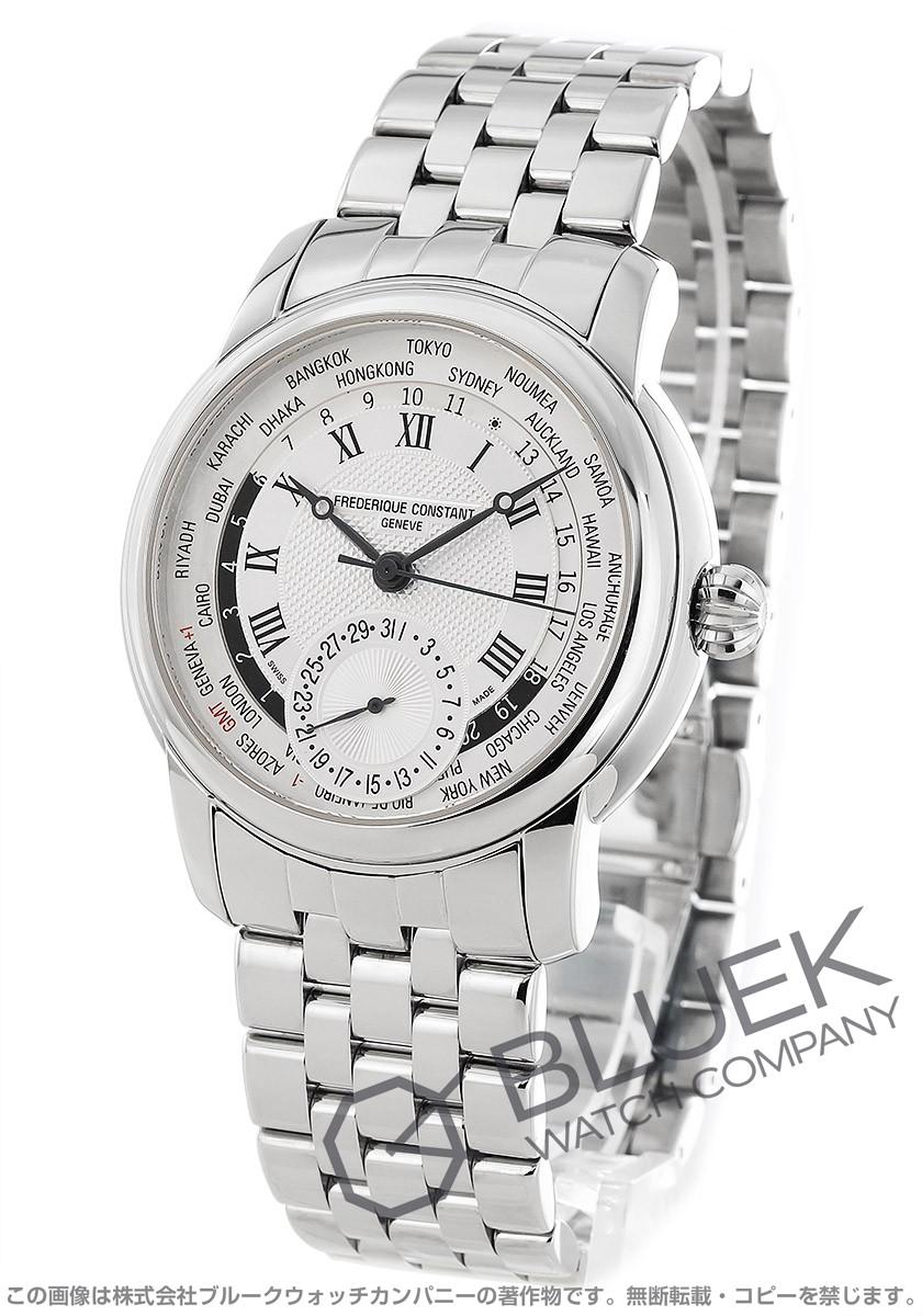 フレデリックコンスタント マニュファクチュール ワールドタイマー 腕時計 メンズ FREDERIQUE CONSTANT 718MC4H6B