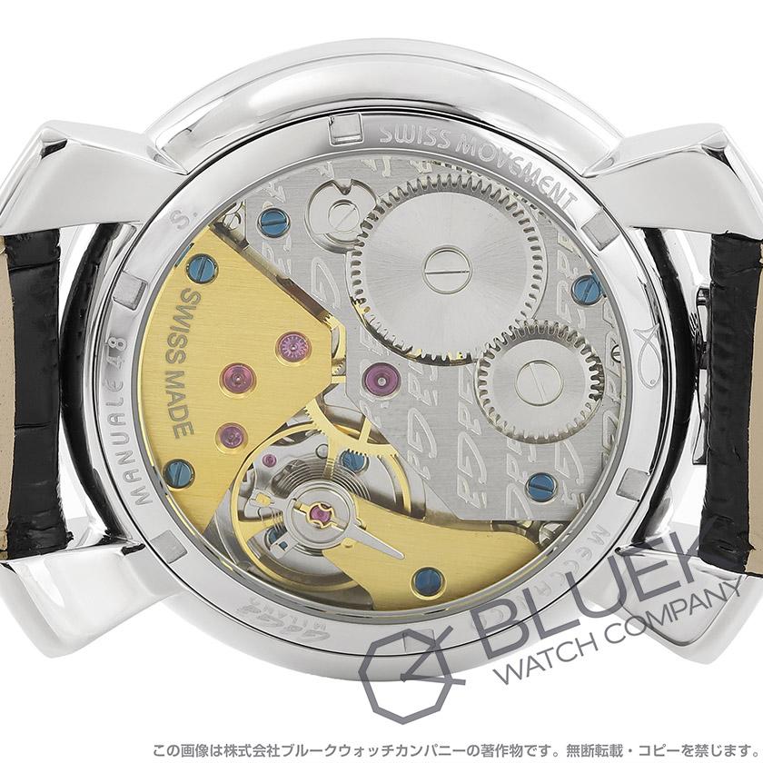super popular bf977 88c4f 安い ガガミラノ マヌアーレ48MM 腕時計 メンズ GaGa MILANO ...