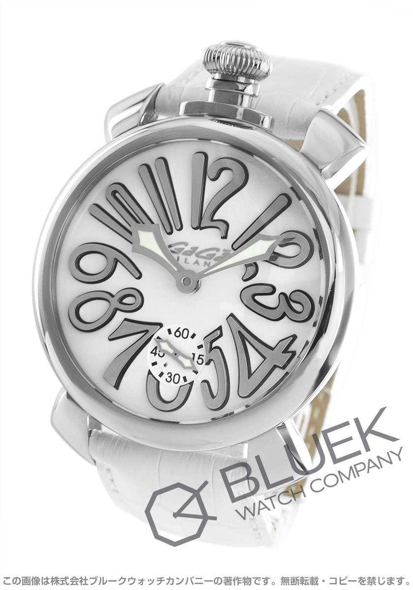 ガガミラノ マヌアーレ48MM 腕時計 メンズ GaGa MILANO 5010.10S バーゲン 成人祝い ギフト プレゼント