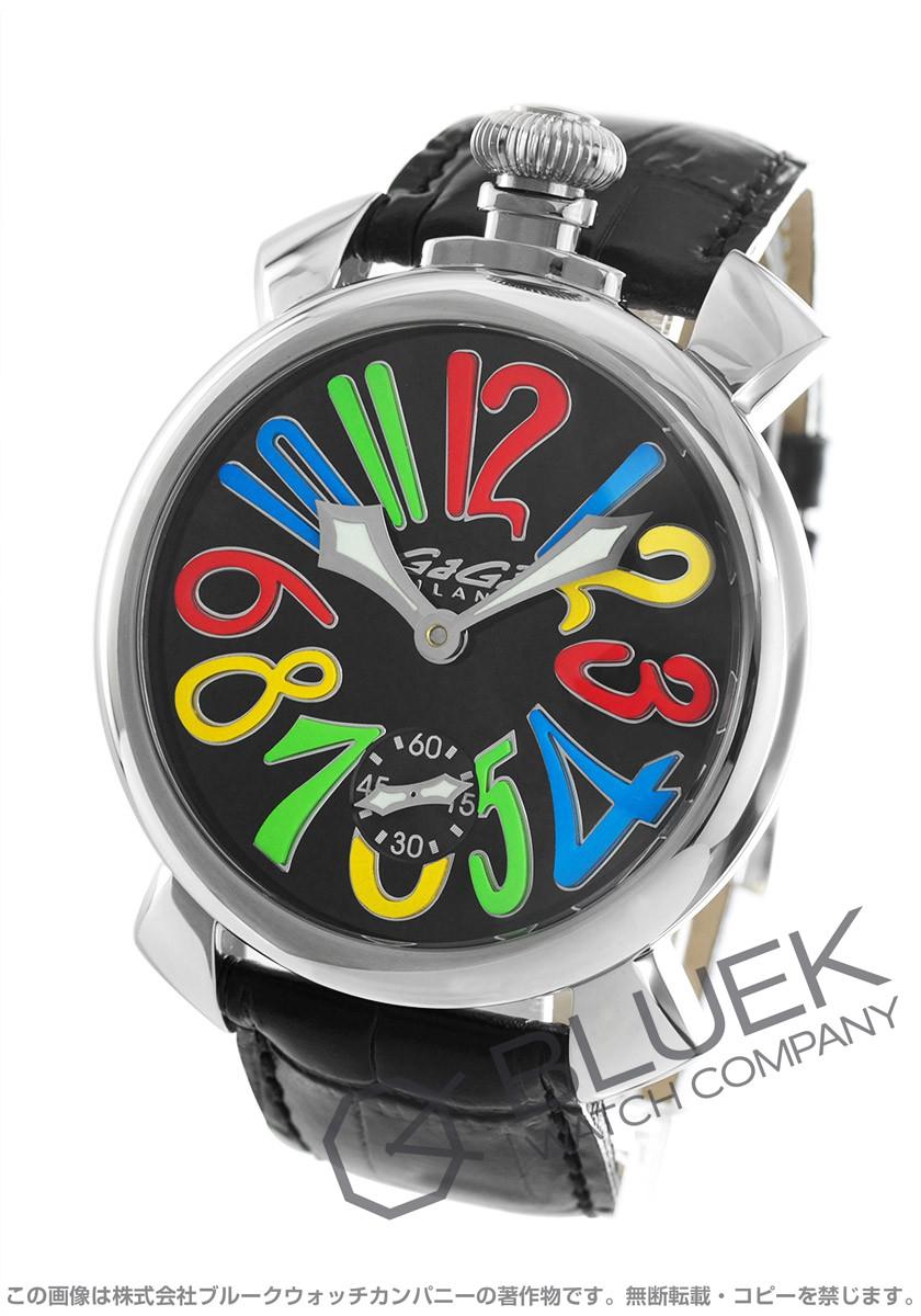 ガガミラノ マヌアーレ48MM 腕時計 メンズ GaGa MILANO 5010.02S バーゲン 成人祝い ギフト プレゼント