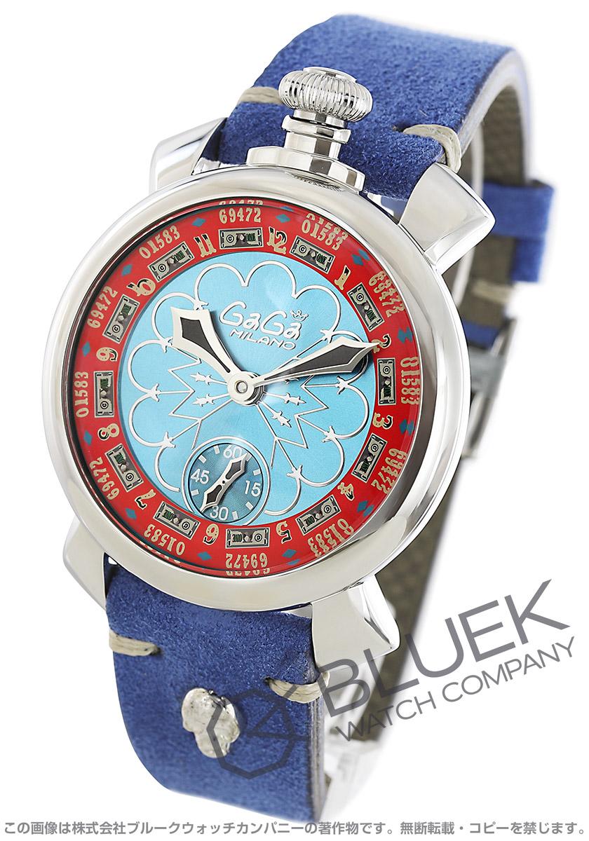 【最大3万円割引クーポン 11/01~】ガガミラノ マヌアーレ48MM ラスベガス 世界限定300本 腕時計 メンズ GaGa MILANO 5010.LAS VEGAS.02