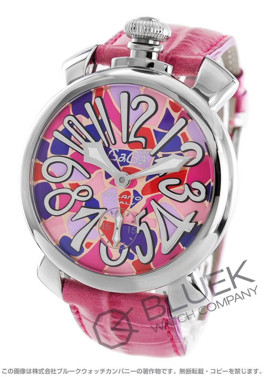ガガミラノ マヌアーレ48MM モザイク 腕時計 メンズ GaGa MILANO 5010.MO バーゲン 成人祝い ギフト プレゼント