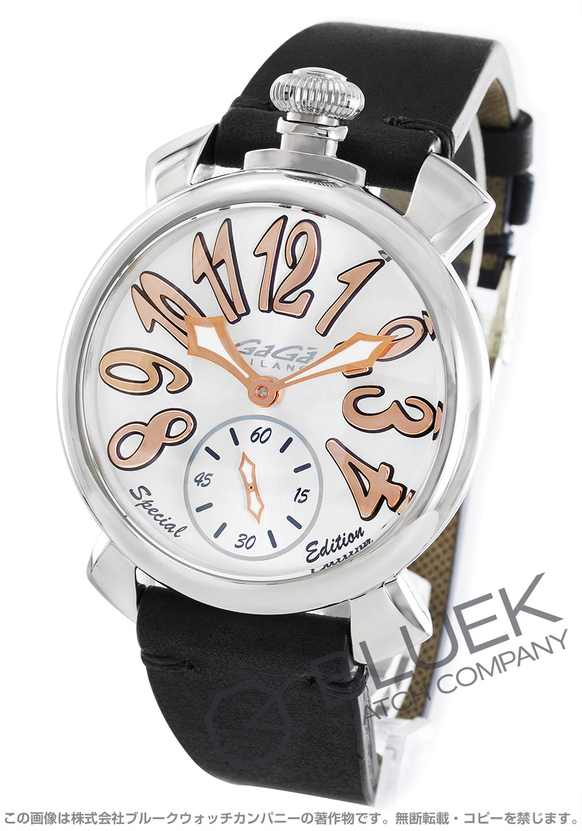【最大3万円割引クーポン 11/01~】ガガミラノ マヌアーレ48MM スペシャルエディション 腕時計 メンズ GaGa MILANO 5010.SP.01