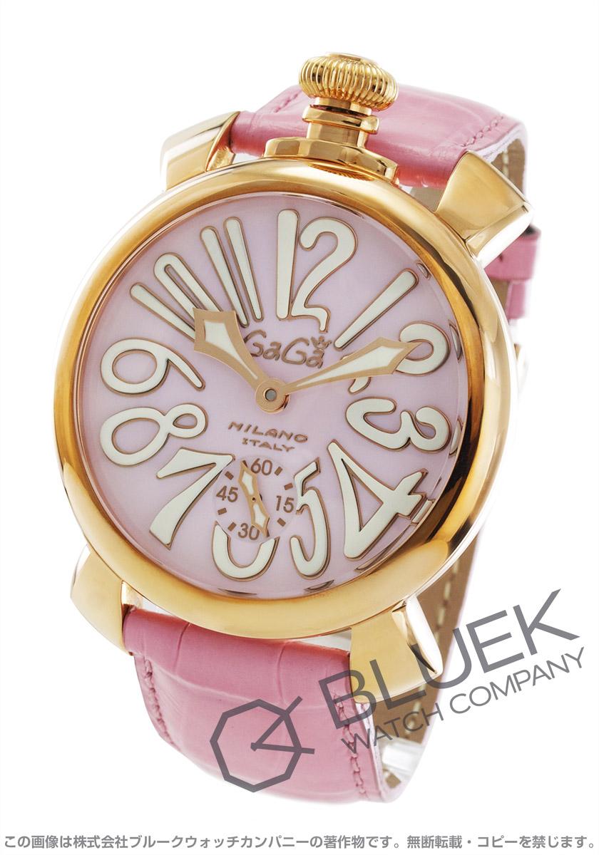 【3,000円OFFクーポン対象】ガガミラノ マヌアーレ48MM 腕時計 ユニセックス GaGa MILANO 5011.02S