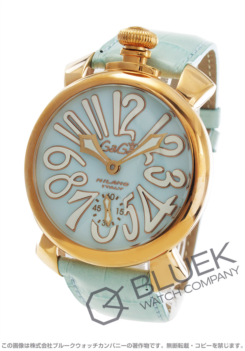 ガガミラノ マヌアーレ48MM 腕時計 メンズ GaGa MILANO 5011.03S