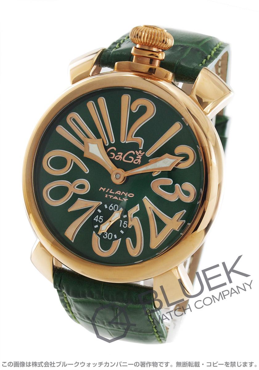 ガガミラノ マヌアーレ48MM 腕時計 メンズ GaGa MILANO 5011.04S