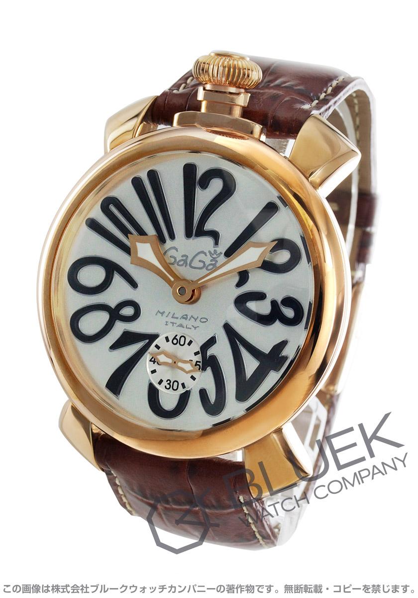 【3,000円OFFクーポン対象】ガガミラノ マヌアーレ48MM 腕時計 メンズ GaGa MILANO 5011.06S