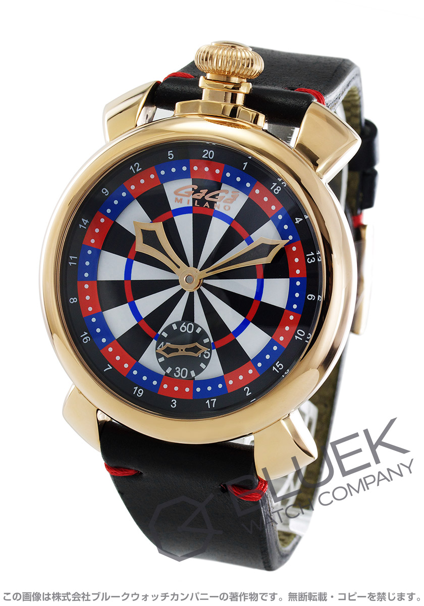 【最大3万円割引クーポン 10/1~】ガガミラノ マヌアーレ48MM ラスベガス 世界限定300本 腕時計 メンズ GaGa MILANO 5011.LAS VEGAS.03