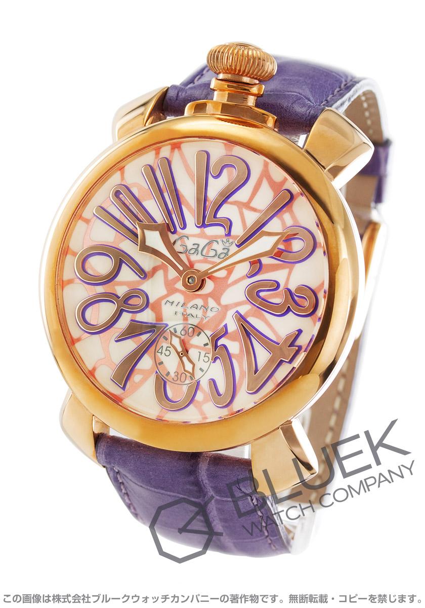ガガミラノ マヌアーレ48MM モザイク 腕時計 メンズ GaGa MILANO 5011.MOSAICO1S