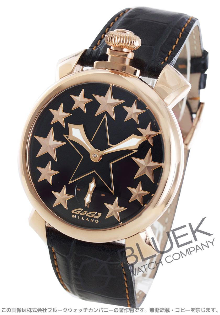 【3,000円OFFクーポン対象】ガガミラノ マヌアーレ48MM スター 腕時計 メンズ GaGa MILANO 5011.STARS.01