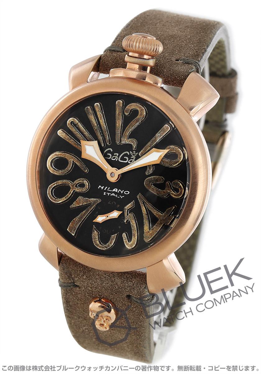 【最大3万円割引クーポン 11/01~】ガガミラノ マヌアーレ48MM ヴィンテージ 腕時計 メンズ GaGa MILANO 5011.VINTAGE.S