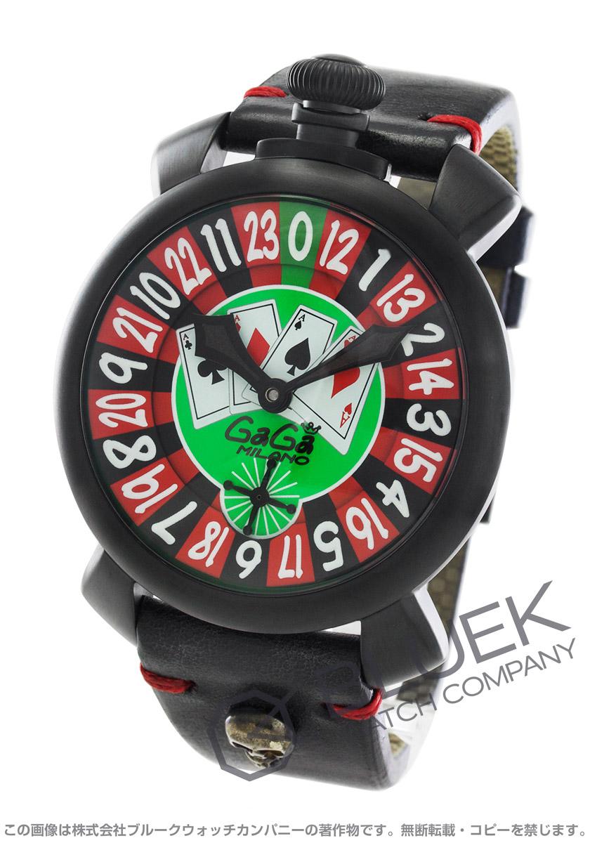 ガガミラノ マヌアーレ48MM ラスベガス 世界限定500本 腕時計 メンズ GaGa MILANO 5012.LAS VEGAS バーゲン 成人祝い ギフト プレゼント