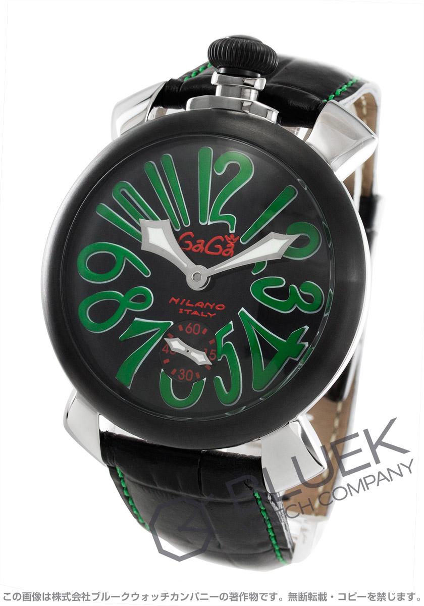 【3,000円OFFクーポン対象】ガガミラノ マヌアーレ48MM 腕時計 メンズ GaGa MILANO 5013.02S