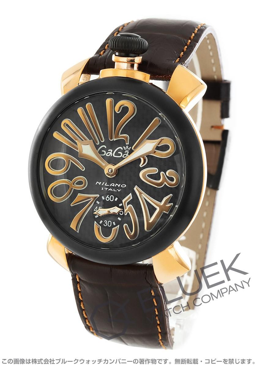 ガガミラノ マヌアーレ48MM 腕時計 メンズ GaGa MILANO 5014.01S