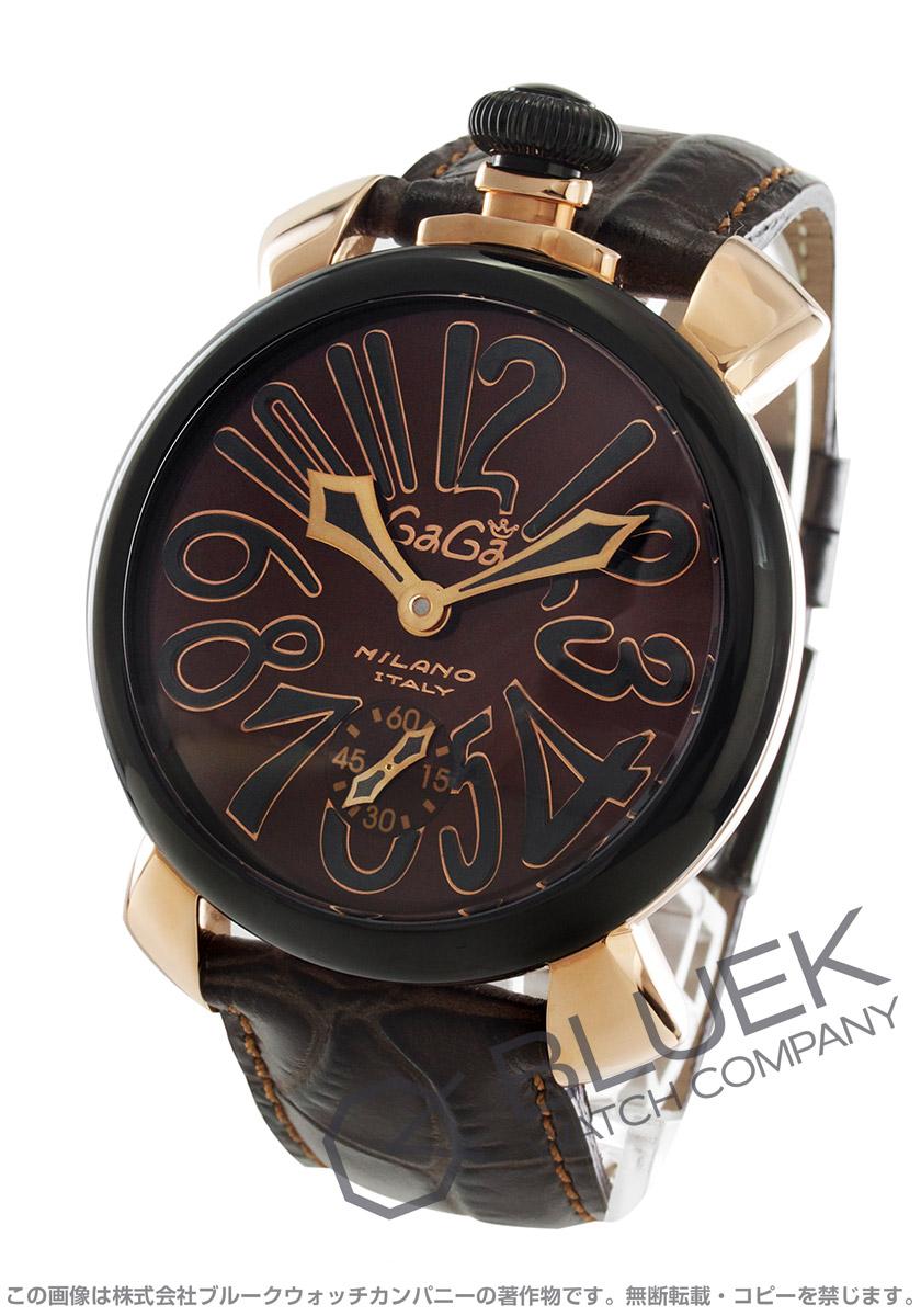 ガガミラノ マヌアーレ48MM 腕時計 メンズ GaGa MILANO 5014.02S バーゲン 成人祝い ギフト プレゼント