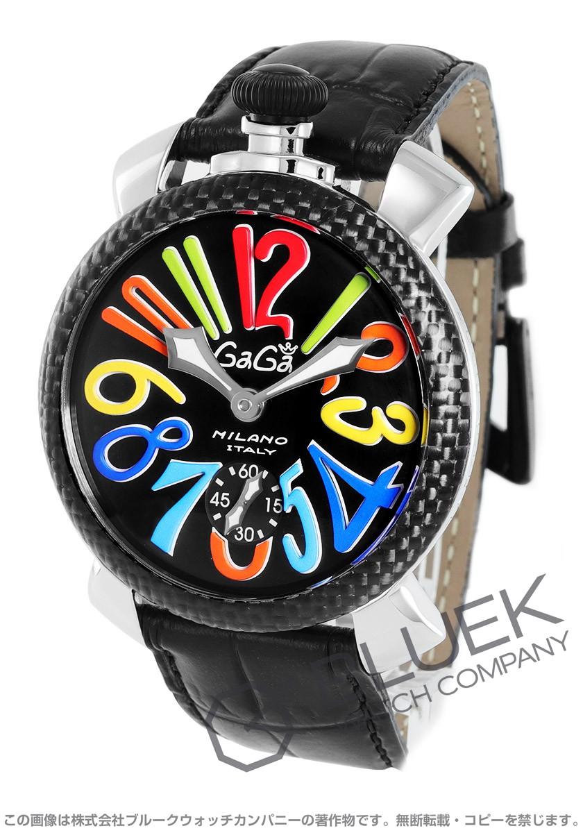 【3,000円OFFクーポン対象】ガガミラノ マヌアーレ48MM 腕時計 メンズ GaGa MILANO 5015S