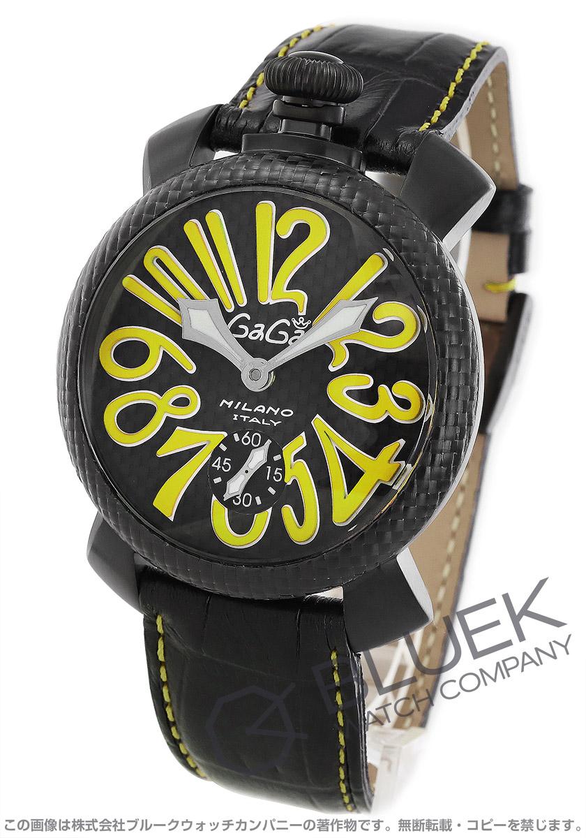 ガガミラノ マヌアーレ48MM 腕時計 メンズ GaGa MILANO 5016.EDA02