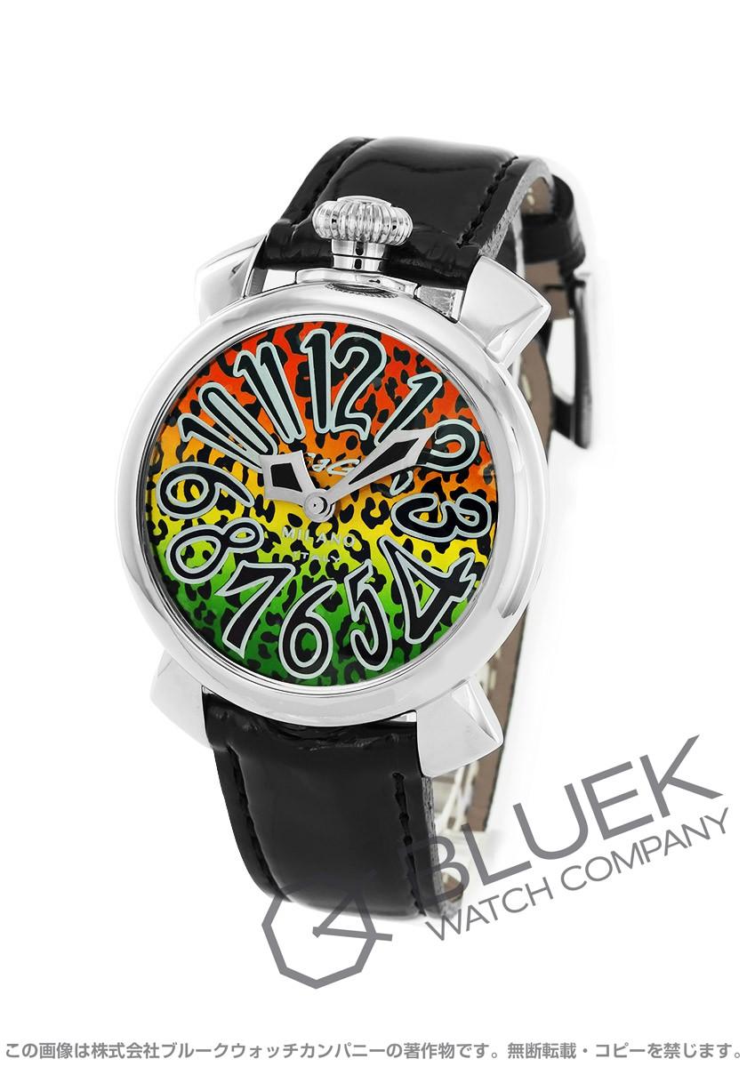 ガガミラノ マヌアーレ40MM アニマーレ 限定500本 腕時計 ユニセックス GaGa MILANO 5020 ART 01